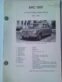 BMC 1800 Ado 17 Vraagbaak ATH 65-66 #1 Nederlands