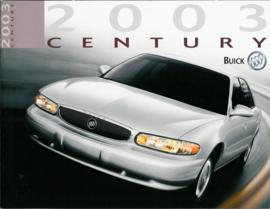 Buick Century  Brochure .03 #1 Engels