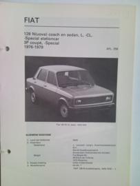 Fiat 128  Vraagbaak ATH 76-79 #1 Nederlands