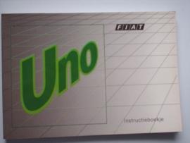 Fiat Uno  Instructieboekje 89 #3 Nederlands