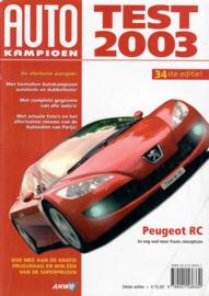 Autotest   Jaarboek 2003 #1 Nederlands