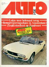 Autovisie Tijdschrift 1977 NR 15 #1 Nederlands