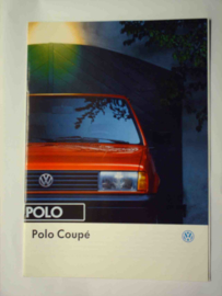 Volkswagen Polo  Brochure 93 #1 Nederlands