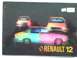 Renault 14  Instructieboekje 80 #1 Nederlands