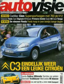 Autovisie   Tijdschrift 2001 NR 18 #1 Nederlands