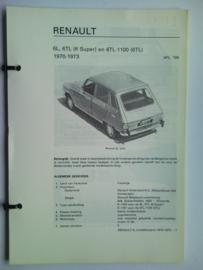 Renault 6  Vraagbaak ATH 70-73 #2 Nederlands