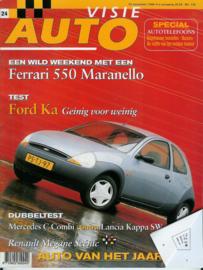 1996 Autovisie NR 24 tijdschrift