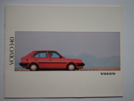 Volvo 340  Brochure 91 #1 Nederlands