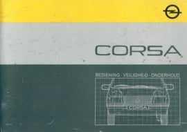 Opel Corsa A  Instructieboekje 85 #1 Nederlands