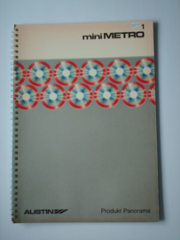Austin Metro  Brochure Product Panorama 81 #1 Nederlands