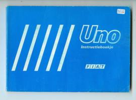 Fiat Uno  Instructieboekje 84 #1 Nederlands