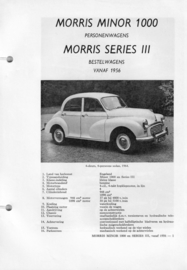 Morris Minor 1000 Series III  Vraagbaak ATH 56 #1 Nederlands