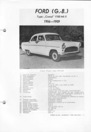 Ford Consul 1700 MK II  Vraagbaak ATH 56-59 #1 Nederlands