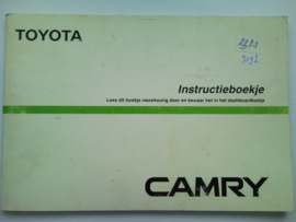 Toyota Camry  Instructieboekje 87 #1 Nederlands
