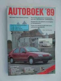 Autoboek   Jaarboek 1989 #2 Nederlands