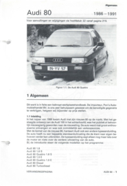 Audi 80  Vraagbaak ATH 86-91 #1 Nederlands