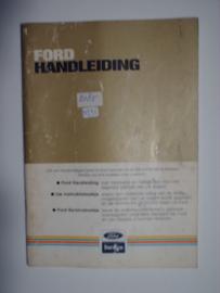 Ford Alle Modellen  Instructieboekje 82 #2 Nederlands