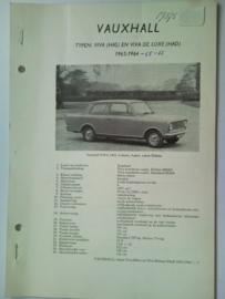 Vauxhall Viva  Vraagbaak ATH 63-64 #2 Nederlands