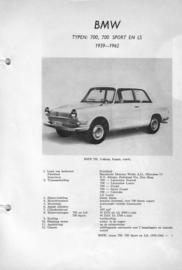 BMW 700 Sport LS  Vraagbaak ATH 59-62 #2 Nederlands