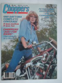 Choppers Tijdschrift 1981 Juni #1 Engels