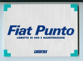 Fiat Punto  Instructieboekje 98 #1 Italiaans