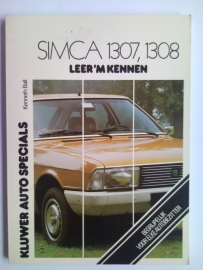 Simca 1307 1308  Leer 'm kennen 75-78 #1 Nederlands