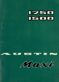 Austin Maxi 1500 1750 Instructieboekje 71 #1 Nederlands