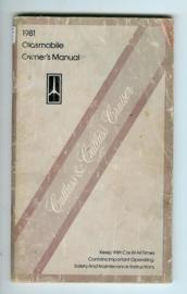 Oldsmobile Cutlass & Cutlass Cruiser  Instructieboekje 80 #1 Engels