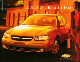 Chevrolet Malibu  Brochure .03 #1 Engels