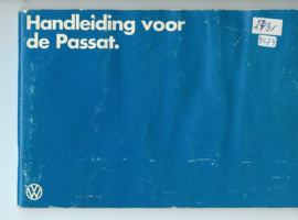 Volkswagen Passat  Instructieboekje 81 #1 Nederlands