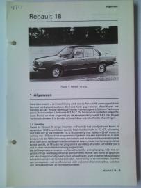 Renault 18  Vraagbaak ATH   #1 Nederlands