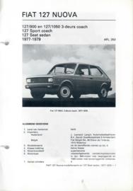 Fiat 127 Nuova Vraagbaak ATH 77-79 #2 Nederlands