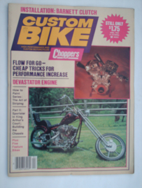 Costum Bike Choppers Tijdschrift 1982 April #1 Engels