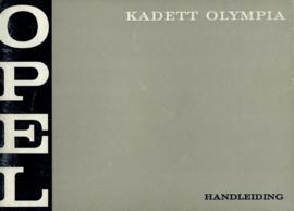 Opel Kadett Olympia  Instructieboekje 69 #1 Nederlands