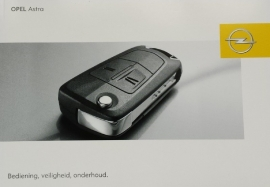 Opel Astra H  Instructieboekje 2007 -01 #1 Nederlands