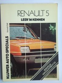 Renault 5  Leer 'm kennen 72-76 #1 Nederlands