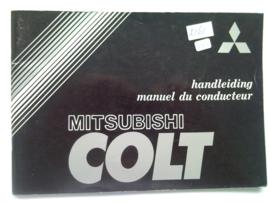 Mitsubishi Colt  Instructieboekje 79 #1 Nederlands Frans