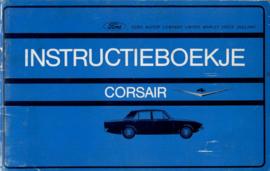 Ford Corsair V4  Instructieboekje 66 #1 Nederlands
