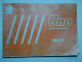 Fiat Uno  Instructieboekje 83 #2 Nederlands