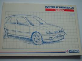 Nissan Sunny  Instructieboekje 90 #1 Nederlands