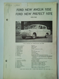 Ford Anglia Perfect Escort Squire  Vraagbaak ATH 59-60 #2 Nederlands