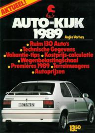 Auto-Kijk   Jaarboek 1989 #1 Nederlands