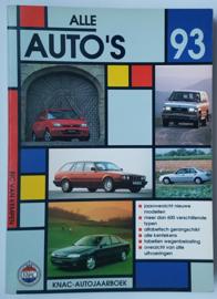 Alle Auto's   Jaarboek 1993 #1 Nederlands