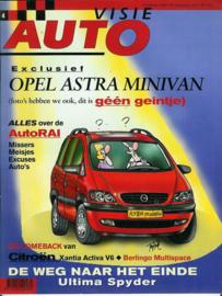 Autovisie   Tijdschrift 1997 NR 04 #1 Nederlands
