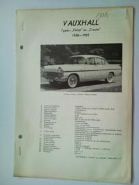 Vauxhall Velox Cresta  Vraagbaak ATH 58-59 #2 Nederlands