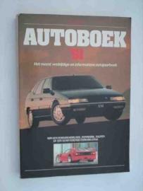 Autoboek   Jaarboek 1991 #3 Nederlands