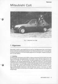 Mitsubishi Colt  Vraagbaak ATH 80 #2 Nederlands