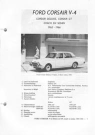 Ford Corsair V4  Vraagbaak ATH 65-66 #5 Nederlands