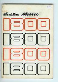 Austin Morris 1800 Instructieboekje 73 #1 Engels
