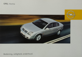 Opel Vectra C  Instructieboekje 2004 -08 #1 Nederlands